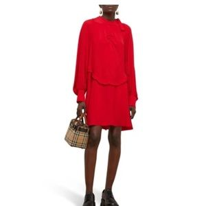 No. 21 red long sleeve dress nwot 38 US2